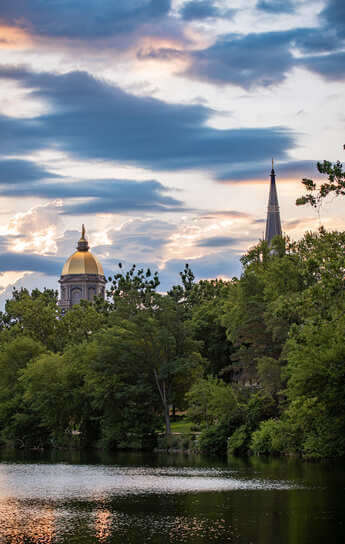 Notre Dame's Dome and Basilica